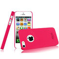 IMAK Ultrathin Matte Color Covers Hard Cases for iPhone 5 - Rose (High transparent screen protector)