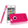 Imak ice cream hard cases covers for iPhone 5 - Rose (High transparent screen protector)