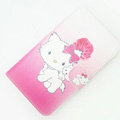 Hello kitty Side Flip leather Cases Covers for Samsung N7100 GALAXY Note2 - Rose