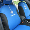 Chelsea Football Club Universal Auto Car Seat Cover Set 10pcs - Blue