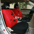 Mickey Minnie Mouse universal Auto Car Seat Covers set - Red