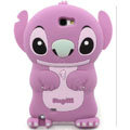 3D Stitch Silicone Cases Skin Covers for Samsung N7100 GALAXY Note2 - Purple