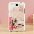Birdcage Hard Cases Covers Skin for Samsung N7100 GALAXY Note2 - Pink