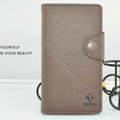 Cover Side Flip leather Cases luxury Holster for LG F160L Optimus LTE II 2 - Coffee
