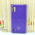 TPU Soft Cases Colorful Covers Skin for LG F160L Optimus LTE II 2 - Purple