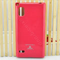 TPU Soft Cases Colorful Covers Skin for LG F160L Optimus LTE II 2 - Rose