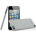 IMAK Cowboy Shell Quicksand Hard Cases Covers for iPod touch 5 - Gray (High transparent screen protector)