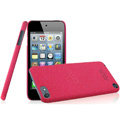 IMAK Cowboy Shell Quicksand Hard Cases Covers for iPod touch 5 - Rose (High transparent screen protector)
