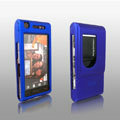 IMAK Full Cover Ultrathin Matte Color Shell Hard Cases for Sony Ericsson Satio U1 Idou - Blue (High transparent screen protector)