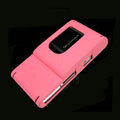 IMAK Ultrathin Color Covers Hard Cases for Sony Ericsson Satio U1 Idou - Pink (High transparent screen protector)