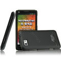 IMAK Ultrathin Matte Color Covers Hard Cases for Motorola XT681 - Black (High transparent screen protector)