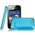 IMAK Ultrathin Matte Color Covers Hard Cases for Samsung S5368 - Blue (High transparent screen protector)