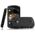 IMAK Ultrathin Matte Color Covers Hard Cases for Sony Ericsson WT19i - Black (High transparent screen protector)