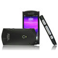 IMAK Ultrathin Matte Color Covers Hard Cases for Sony Ericsson Xperia Neo MT15i MT11i - Black