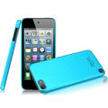 IMAK Ultrathin Matte Color Covers Hard Cases for iPod touch 5 - Blue (High transparent screen protector)