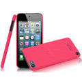 IMAK Ultrathin Matte Color Covers Hard Cases for iPod touch 5 - Rose (High transparent screen protector)