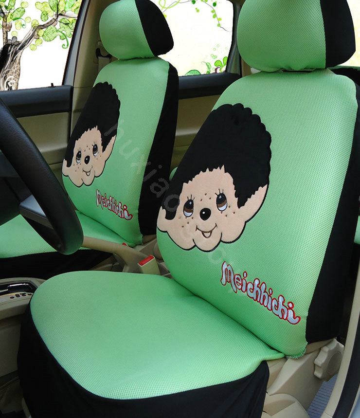 Buy Wholesale Monchhichi Universal Auto Car Seat Cover Set