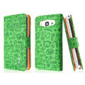 IMAK Candy holster leather Cases Covers Skin for Samsung B9062 - Green