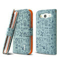 IMAK Candy holster leather Cases Covers Skin for Samsung Galaxy SIII S3 I9300 I9308 I939 I535 - Gray