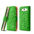 IMAK Candy holster leather Cases Covers Skin for Samsung Galaxy SIII S3 I9300 I9308 I939 I535 - Green