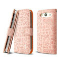 IMAK Candy holster leather Cases Covers Skin for Samsung Galaxy SIII S3 I9300 I9308 I939 I535 - Pink