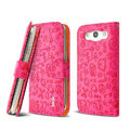 IMAK Candy holster leather Cases Covers Skin for Samsung Galaxy SIII S3 I9300 I9308 I939 I535 - Rose