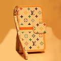 LOUIS VUITTON LV Holster cover leather cases Skin for Samsung Galaxy SIII S3 I9300 I9308 I939 I535 - White