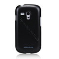 Nillkin Colourful Hard Cases Skin Covers for Samsung I8190 GALAXY SIII Mini - Black (High transparent screen protector)