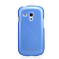 Nillkin Colourful Hard Cases Skin Covers for Samsung I8190 GALAXY SIII Mini - Blue (High transparent screen protector)