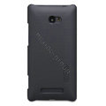 Nillkin Super Matte Hard Cases Skin Covers for HTC 8X - Black (High transparent screen protector)