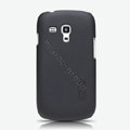 Nillkin Super Matte Hard Cases Skin Covers for Samsung I8190 GALAXY SIII Mini - Black (High transparent screen protector)