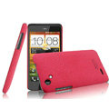 IMAK Cowboy Shell Quicksand Hard Cases Covers for HTC T528d One SC - Rose (High transparent screen protector)