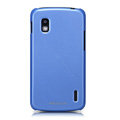 Nillkin Colourful Hard Cases Skin Covers for LG E960 Nexus 4 - Blue (High transparent screen protector)