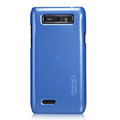 Nillkin Colourful Hard Cases Skin Covers for Motorola XT788 - Blue (High transparent screen protector)