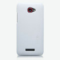 Nillkin Super Matte Hard Cases Skin Covers for HTC X920e Droid DNA - White (High transparent screen protector)