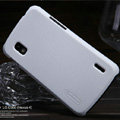Nillkin Super Matte Hard Cases Skin Covers for LG E960 Nexus 4 - White (High transparent screen protector)