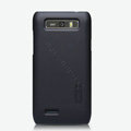 Nillkin Super Matte Hard Cases Skin Covers for Motorola XT788 - Black (High transparent screen protector)