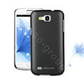 Nillkin Colourful Hard Cases Skin Covers for Samsung I9260 GALAXY Premier - Black (High transparent screen protector)
