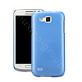 Nillkin Colourful Hard Cases Skin Covers for Samsung I9260 GALAXY Premier - Blue (High transparent screen protector)