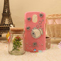 Bling Crystal Case Rhinestone Fish Cover for Samsung i9250 GALAXY Nexus Prime i515 - Pink