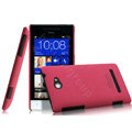 IMAK Cowboy Shell Hard Case Cover for HTC 8S - Rose (High transparent screen protector)