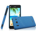 IMAK Cowboy Shell Hard Case Cover for Huawei T8951 G510 - Blue (High transparent screen protector)