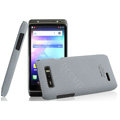 IMAK Cowboy Shell Hard Case Cover for Motorola XT788 - Gray (High transparent screen protector)