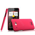 IMAK Ultrathin Matte Color Cover Hard Case for HTC X920e Droid DNA - Rose (High transparent screen protector)