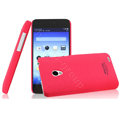 IMAK Ultrathin Matte Color Cover Hard Case for MEIZU MX2 - Rose (High transparent screen protector)