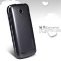 Nillkin Colourful Hard Case Skin Cover for Lenovo A586 - Black (High transparent screen protector)