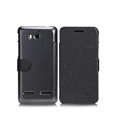Nillkin Fresh leather Case button Holster Cover Skin for Huawei U8950D C8950D G600 - Black