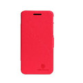 Nillkin Fresh leather Case button Holster Cover Skin for Huawei U8950D C8950D G600 - Red