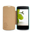 Nillkin Fresh leather Case button Holster Cover Skin for LG E960 Nexus 4 - Green