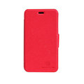 Nillkin Fresh leather Case button Holster Cover Skin for Nokia Lumia 620 - Red